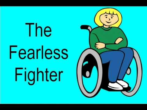 English Reader Book Class V Unit -3 Where There's a Will….L-The fearless fighter
