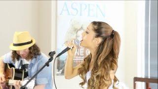 getlinkyoutube.com-Ariana Grande - The Way & Baby I acoustic with Dan Kanter