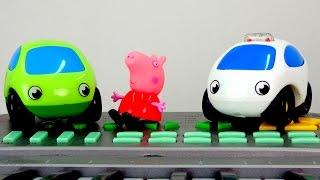 getlinkyoutube.com-Свинка Пеппа и Машинки. Поздравление с днём рождения! Мультики про машинки.