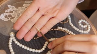 getlinkyoutube.com-Agulhas para bordar (Alta Costura) - Embroidery Needles