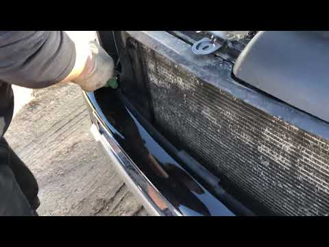 Как снять бампер передний Вольво хс90