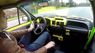 getlinkyoutube.com-My Opel Corsa A 1984 with C20XE - hard acceleration!