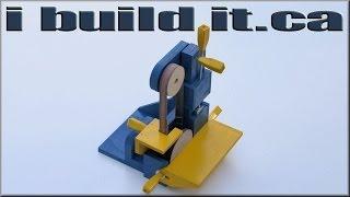 getlinkyoutube.com-Building The Belt / Disk Sander
