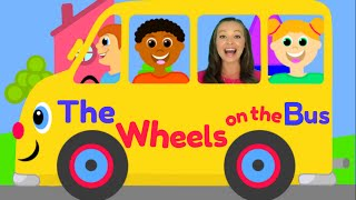 getlinkyoutube.com-The Wheels on the Bus - Nursery Rhymes for Children, Kids and Toddlers