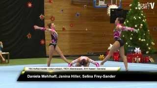 getlinkyoutube.com-Mehlhaff, Hiller, Frey-Sander - TSG/TSGV/SVH - Womens Group - Balance - Zwingerpokal 2013