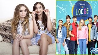 getlinkyoutube.com-Sabrina Carpenter & Rowan Blanchard Not Friends? | The Lodge First Impressions | Disney Channel