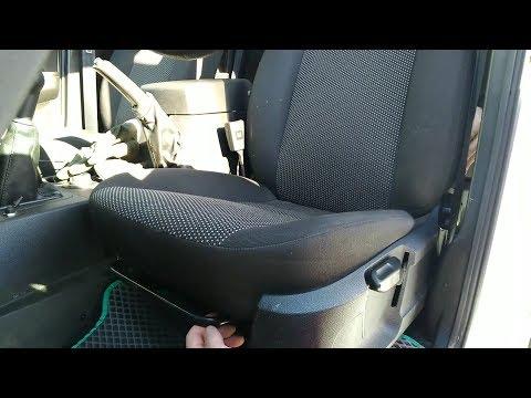 Сидения от Ford Focus 2 на УАЗ Патриот!