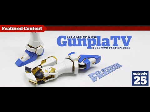 Gunpla - Episode 25 - Gundam - Tutorial - Building - Kit reviews