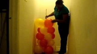 getlinkyoutube.com-Make your own Balloon Column