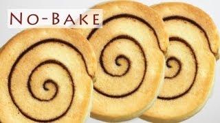 getlinkyoutube.com-No-Bake Pinwheel Cookies 노오븐 롤쿠키 만들기 - 한글자막
