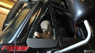 getlinkyoutube.com-Big Show crashes into the Raw arena in a semi-truck: Raw, Oct. 21, 2013