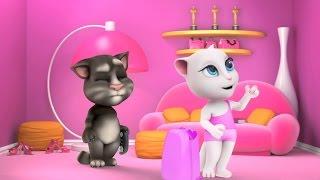 getlinkyoutube.com-My Talking Angela Great Makeover My Talking Tom Episode Full Game for Children HD