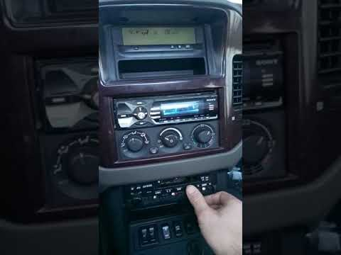 Pajero Wagon 3 GDI Управление бортовым компьютером
