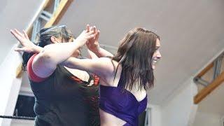 getlinkyoutube.com-New Zealand Female Pro Wrestling | JPE vs Frankie Quinn