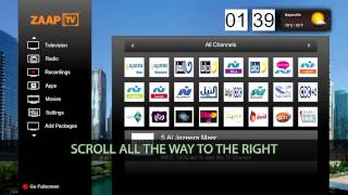 getlinkyoutube.com-How to add MBC channels to your ZAAPTV (ZAAPTV 509N Jailbreak)