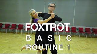 getlinkyoutube.com-How to Dance Foxtrot - Basic Routine 1