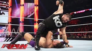 getlinkyoutube.com-Neville vs. Kevin Owens – NXT Championship Match: Raw, June 8, 2015