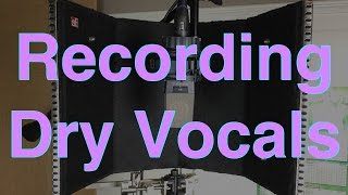 getlinkyoutube.com-How to Record Dry Vocals in Your Home Studio - Before and After