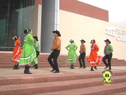 COAHUITL Grupo Folklórico Polka las Perlitas Región Sureste de Coahuila. México.