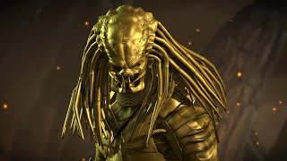 getlinkyoutube.com-Mortal Kombat X PC Mod  Gold Predator Intro Gameplay Fatality Brutality X-Ray Victory 1080p 60 FPS