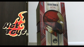 getlinkyoutube.com-[UNBOXING] Hot Toys - Iron Man 3 1/4 th Iron Man Mark 42 Deluxe