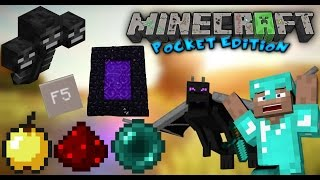 getlinkyoutube.com-‹ Minecraft Pe › Mod Pack // Authentic Pc • Nether , The End , Wither Boss , Sprint ...