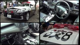 getlinkyoutube.com-新型200系クラウンパトカー(内部撮影有り).渋谷にて