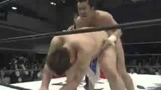 getlinkyoutube.com-男色ディーノvs戸澤アキラ 余りにもひどいプロレスの試合 男塾(DDT)vs戸澤塾(ドラゴンゲート)