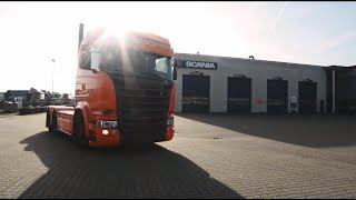 Levering af ny Scania R 580 LA6x4HNB