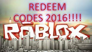 getlinkyoutube.com-ROBLOX 2016  2 FREE REDEEM CODES ( working as of 8/2/16)