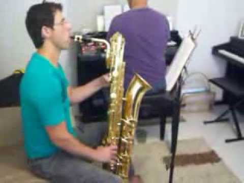 CCB Sax Barítono e Orgão - Hino 190