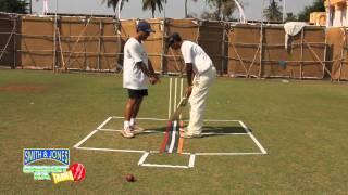 Cricket Practice:Initial Foot Movement