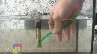 getlinkyoutube.com-Самодельный аэрлифтный фильтр для аквариума # мальки / креветки #