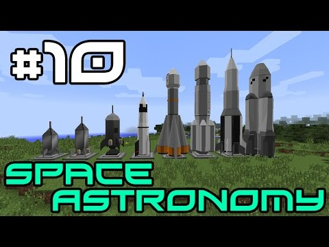 Minecraft Space Astronomy - I Destroy the Base by Accident! #10