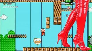 getlinkyoutube.com-Zagrajmy w Super Mario Maker odc. 6 Kozaczek Mario