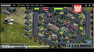getlinkyoutube.com-War Commander base attack on one of our allies by a lvl 30 hacker :)