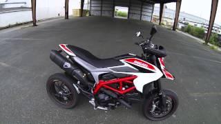 getlinkyoutube.com-2014 Ducati Hypermotard SP Walkaround with Full Termignoni Exhaust Startup and Rev