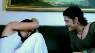 getlinkyoutube.com-Don Scene - Priya Romantic Dream With Suri - Nagarjuna, Anushka, Ragava Larencce