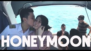 HONEYMOON! to a special island..