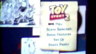 Toy Story 2 DVD Menu