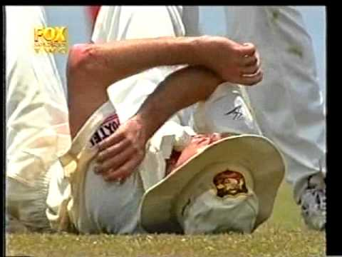 Memories of the horrific on-field collision between Steve Waugh and Jason Gillespie