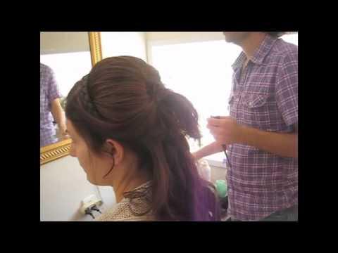 תסרוקת כלה - דקל עוז מעצב שיער - לילך