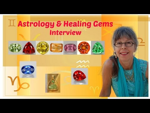 Interview about Healing Gemstones, Crystals & How to Balance Your Astrology Chart