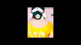 getlinkyoutube.com-Crossdressers showing hottest Indian designer blouse from back side