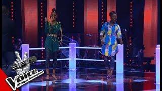 Intégrale Lydie Baya vs Victoire Les Battles   The Voice Afrique Francophone 2017