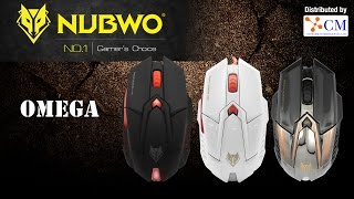 Review Nubwo X Omega เซตมาโคร ปืนกล Aug เกม Point Blank by CM Network Intergroup
