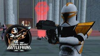 getlinkyoutube.com-Star Wars Battlefront II Mods (PC) HD: Coruscant: High Fight