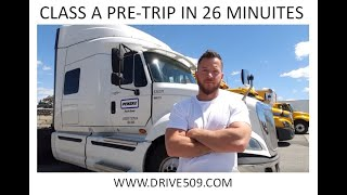 getlinkyoutube.com-HOW TO PASS A Class A Pre trip inspection in 26 minutes www.drive509.com