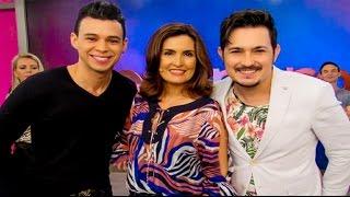 getlinkyoutube.com-Alex e Ronaldo no Programa Encontro com Fátima Bernardes Sexta Feira Sua Linda