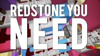 getlinkyoutube.com-10 Redstone Builds You WILL NEED!